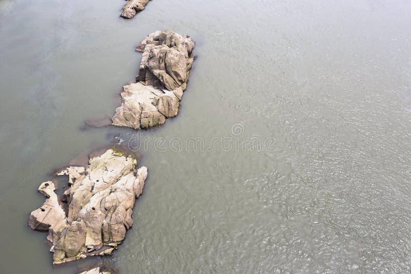 Den Yangtze River reven royaltyfri bild