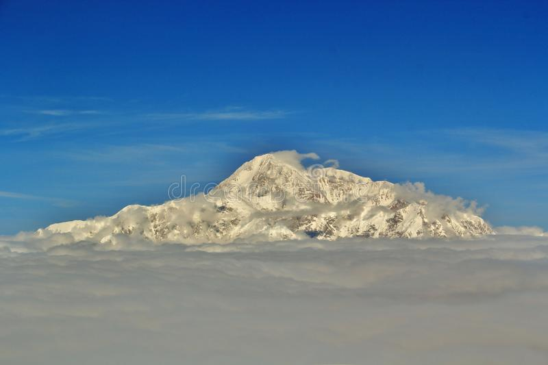 Denali γνωστό επίσης ως υποστήριγμα McKinley Αλάσκα στοκ φωτογραφίες