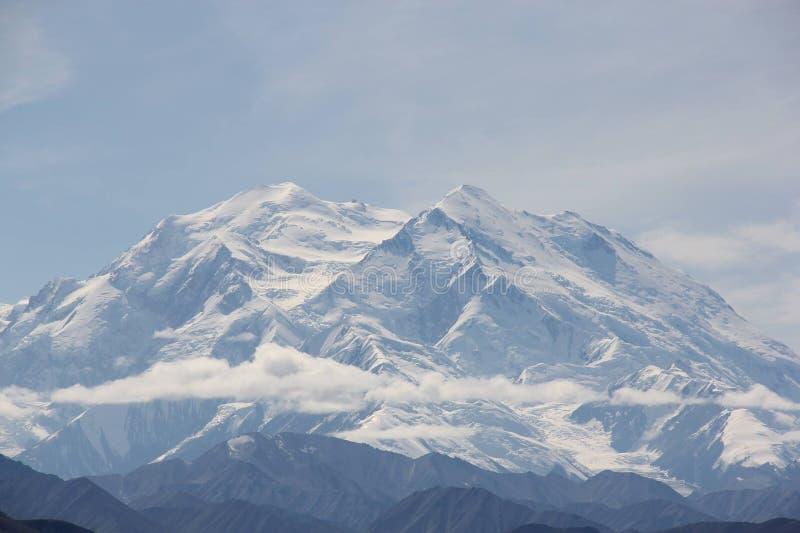 Denali berg arkivbild