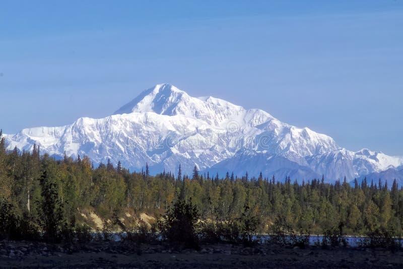 Denali berg fotografering för bildbyråer
