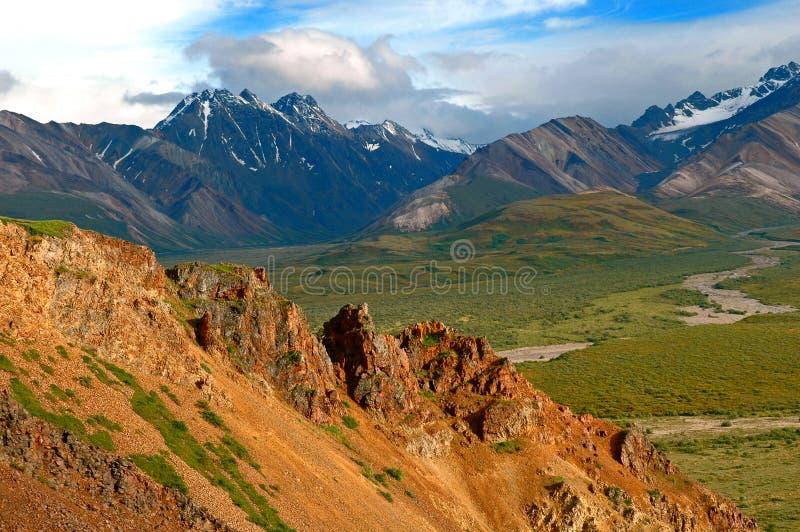 Denali Mountans stock image