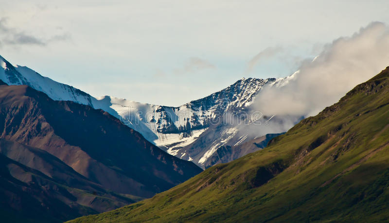 Download Denali National Park stock image. Image of park, snow - 15543433