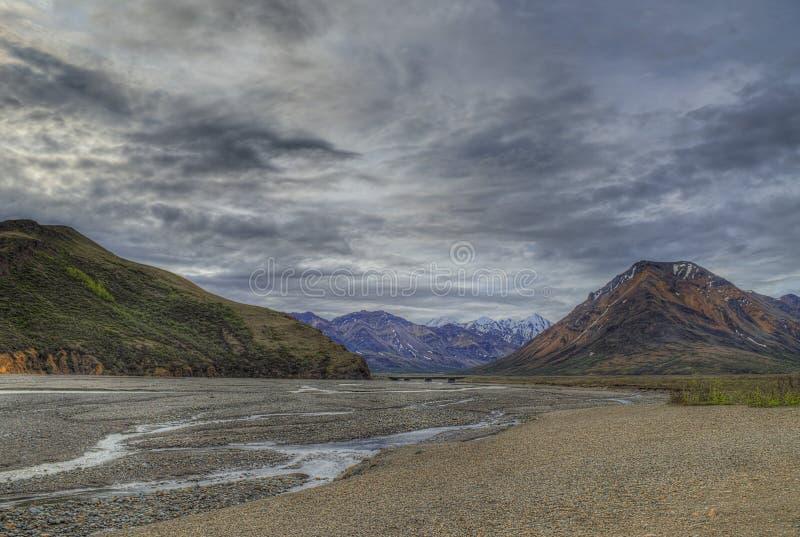 Denali-Park-Nationalpark stockfotografie