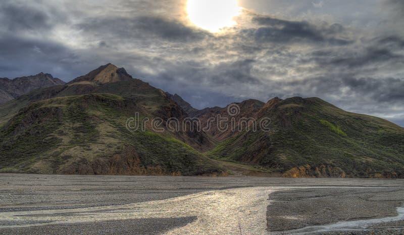 Denali-Park-Nationalpark lizenzfreie stockbilder