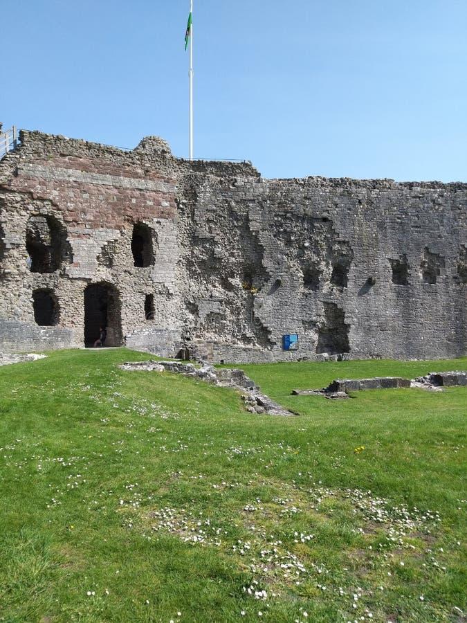 Denbigh-Schloss lizenzfreies stockbild