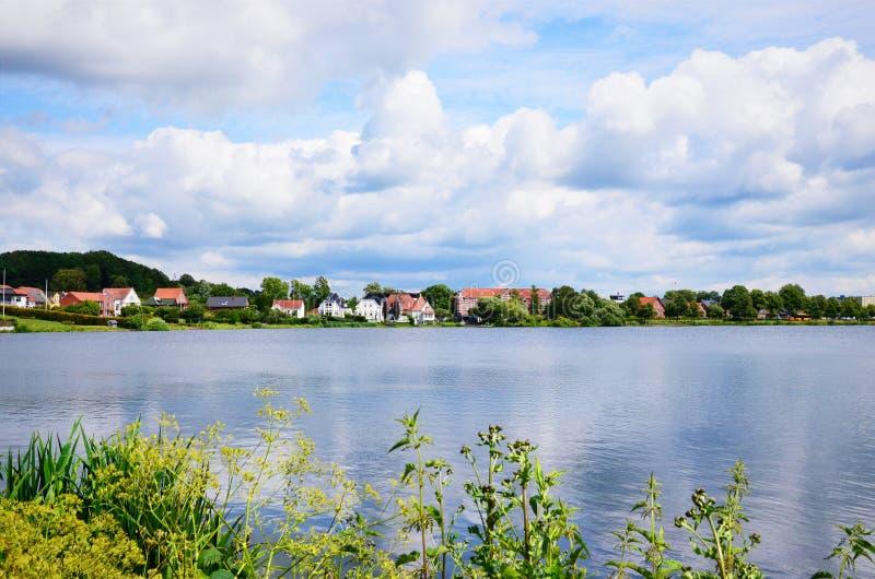 Denemarken, Kolding stock foto's