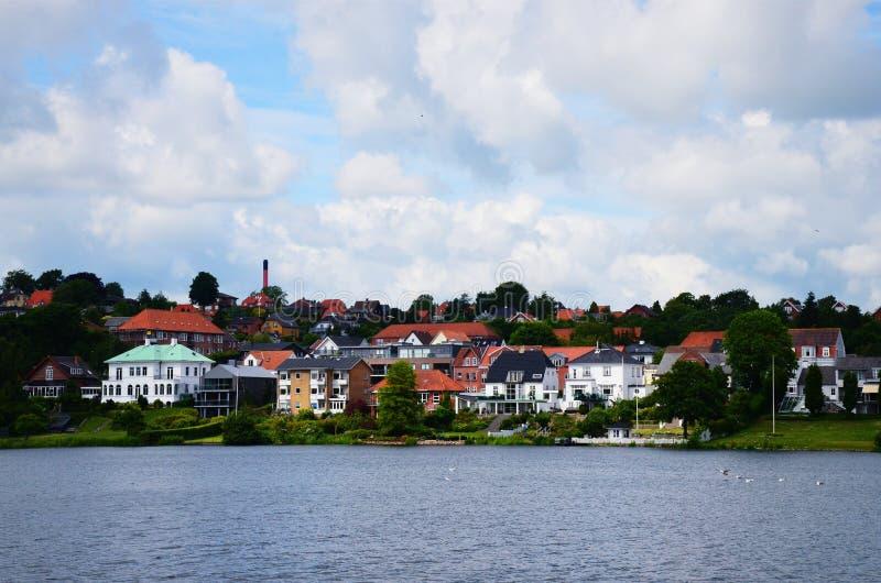 Denemarken, Kolding royalty-vrije stock afbeeldingen