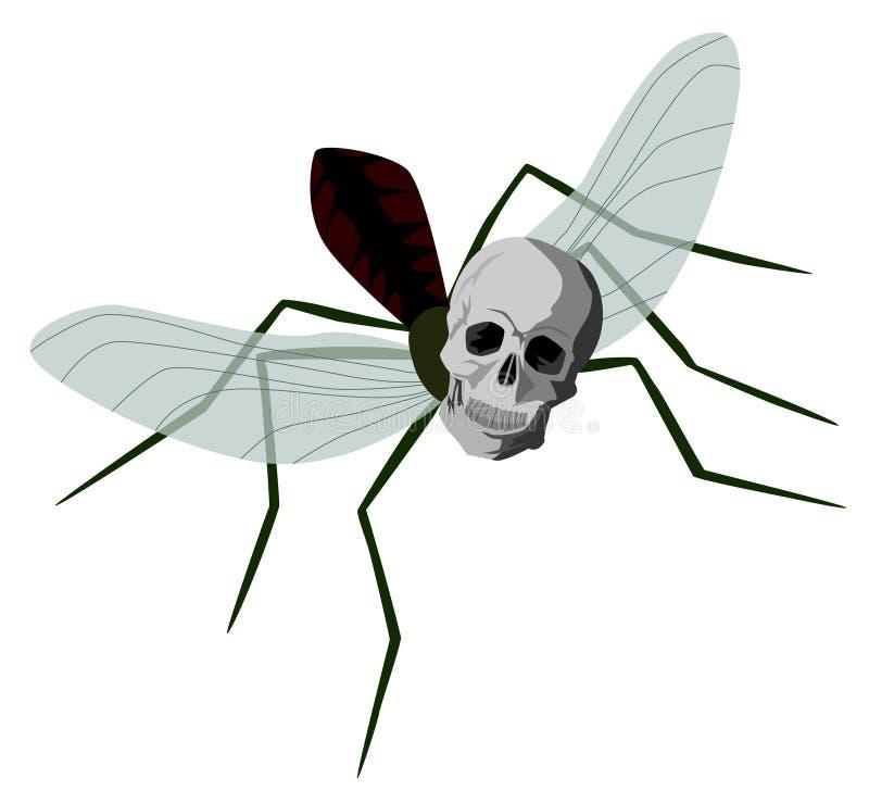 Download Dengue mosquito stock illustration. Illustration of mosquito - 23973662