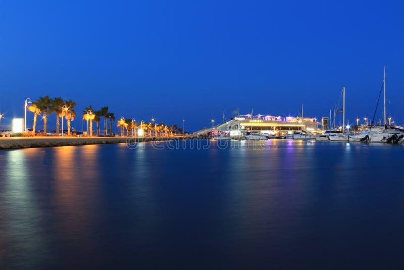 Denia, Alicante, Espanha imagens de stock