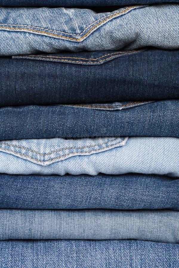 denim близкая текстура съемки джинсыов вверх заднее карманн джинсыов предпосылки стоковая фотография