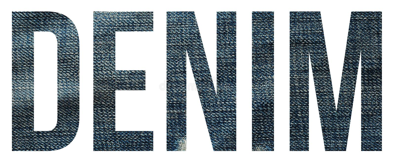 denim photo stock