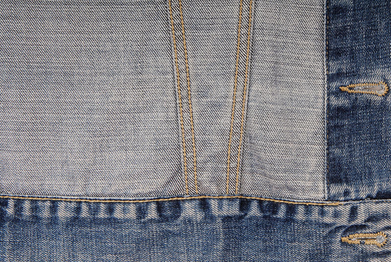 Denim background, jeans jacket stock photos