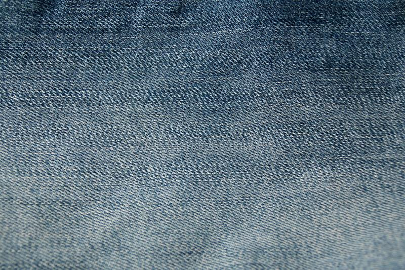 Denim blue fabric, texture, close-up, copy space stock photography