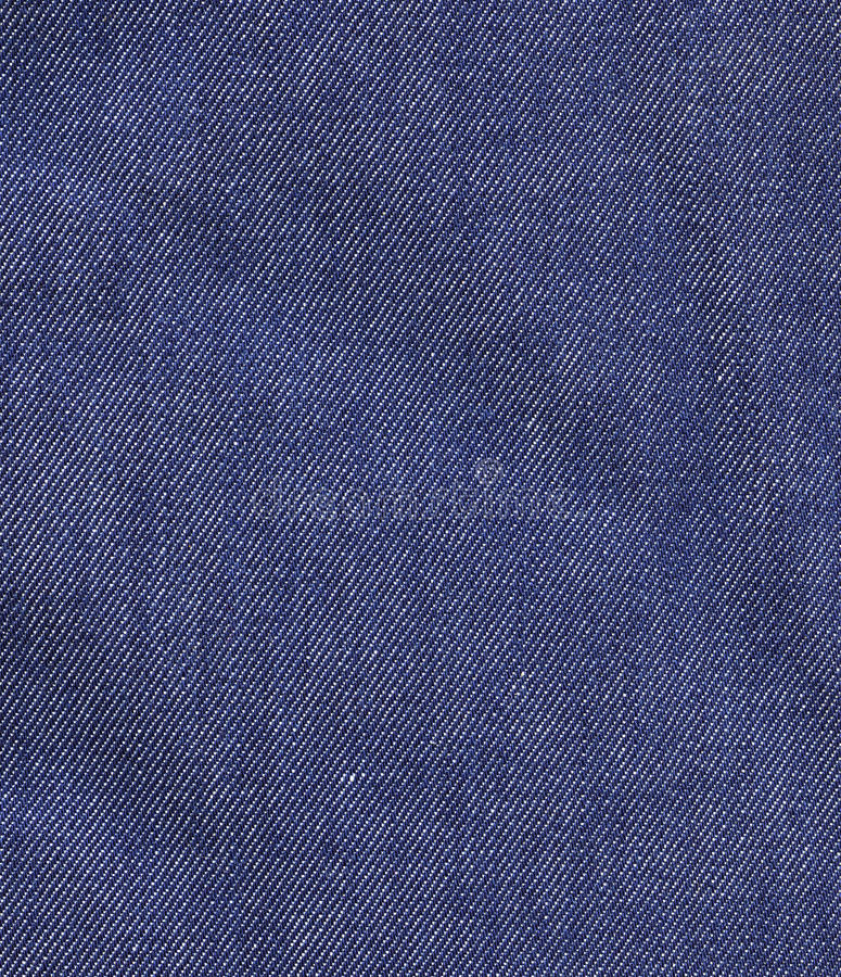 Denim Cloth. Macro shot of denim cloth, perfect to use as a background stock images