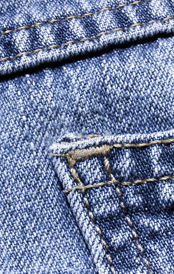 Denim fabric royalty free stock photography