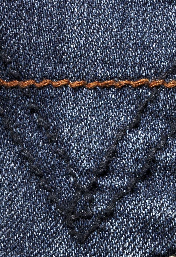 Denim fabric stock image