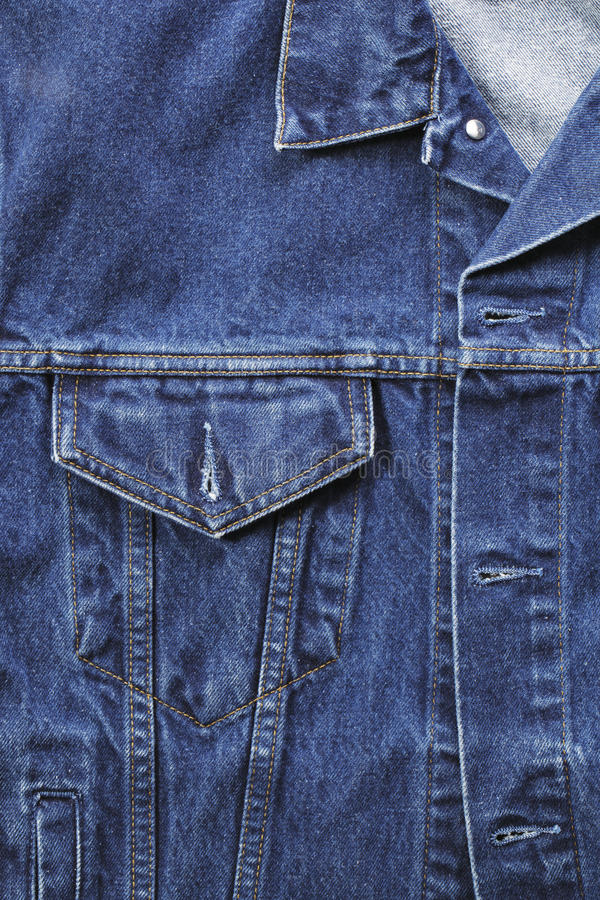 Denim jacket stock images