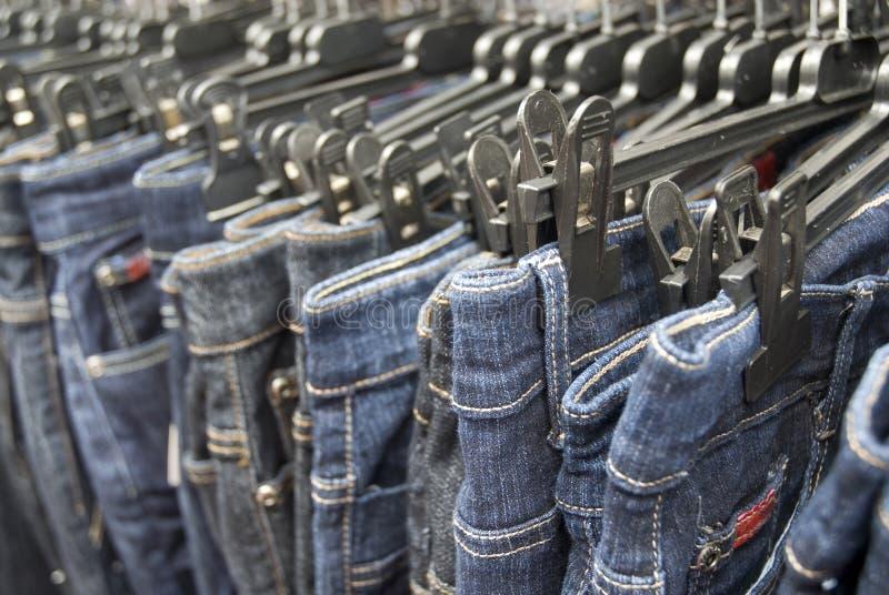 Denim jeans stock images