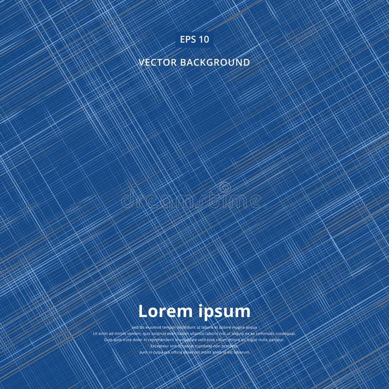 Denim-Jeansmuster des nahtlosen Vektors geometrisches stock abbildung