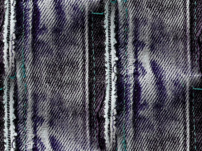 Denim noir - fond sans couture abstrait photo libre de droits