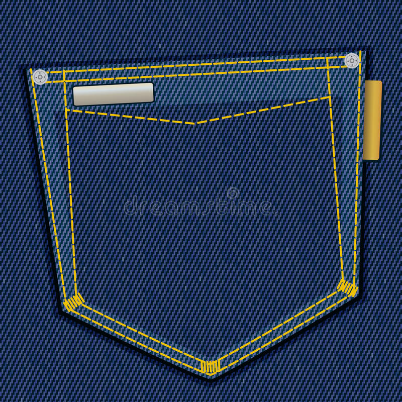 Free Denim Pocket Royalty Free Stock Photography - 13997877