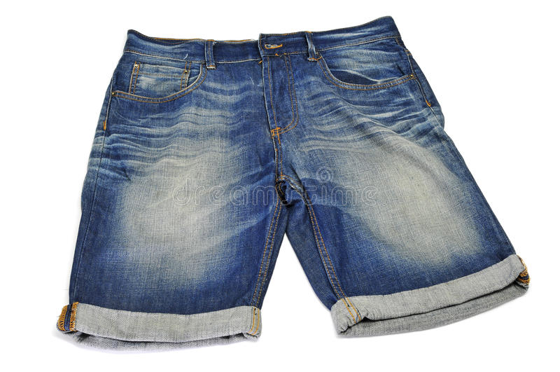 Denim Shorts Stock Photography