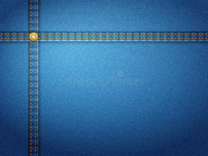 Denim-Tapete stock abbildung