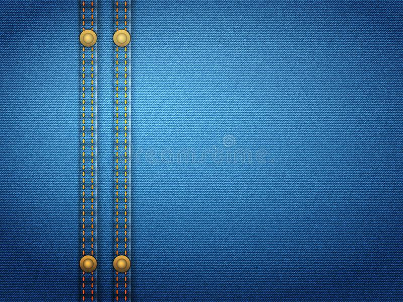 Denim wallpaper stock illustration