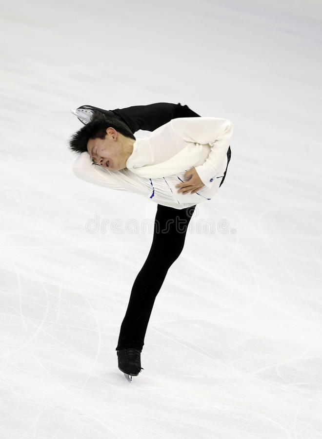 Denis TEN (KAZ) stock image
