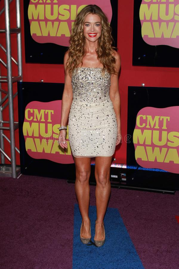 Denise Richards at the 2012 CMT Music Awards, Bridgestone Arena, Nashville, TN 06-06-12 stock photos