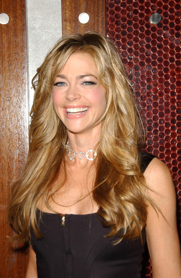 Denise Richards. At the Launch of Dr. Rey's Shapewear. Opera, Hollywood, CA. 10-25-2007 stock image
