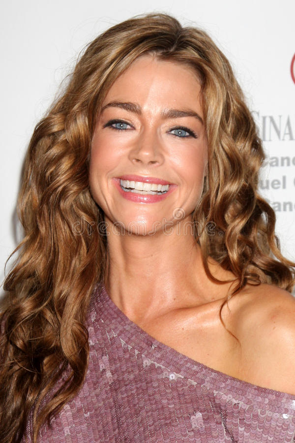 Denise Richards. LOS ANGELES - SEP 25: Denise Richards arrives at the Pink Party 2010 at W Hollywood Hotel on September 25, 2010 in Los Angeles, CA stock photo