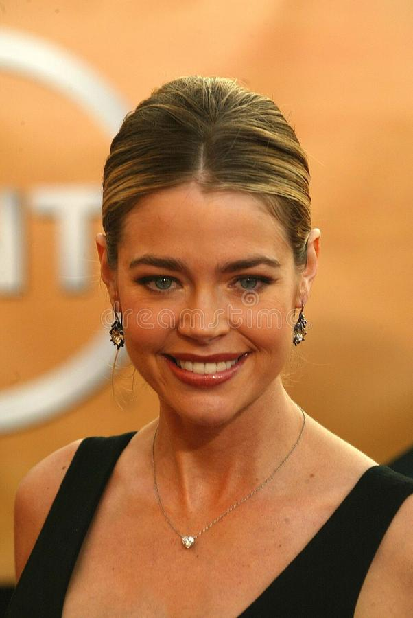 Denise Richards. At the 11th Annual Screen Actors Guild Awards Arrivals, Shrine Auditorium, Los Angeles, CA, 02-06-05 stock photo