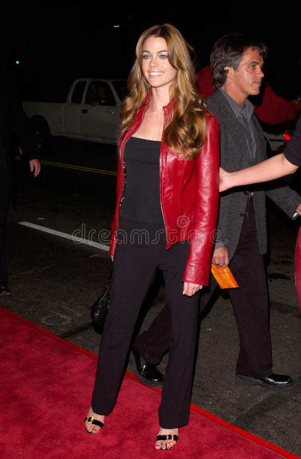 Denise Richards. Actress DENISE RICHARDS at the world premiere of Charlie's Angels, at the Mann's Chinese Theatre in Hollywood. 22OCT2000. Paul Smith / royalty free stock photos