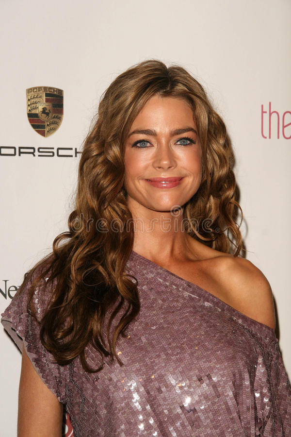 Denise Richards imagem de stock