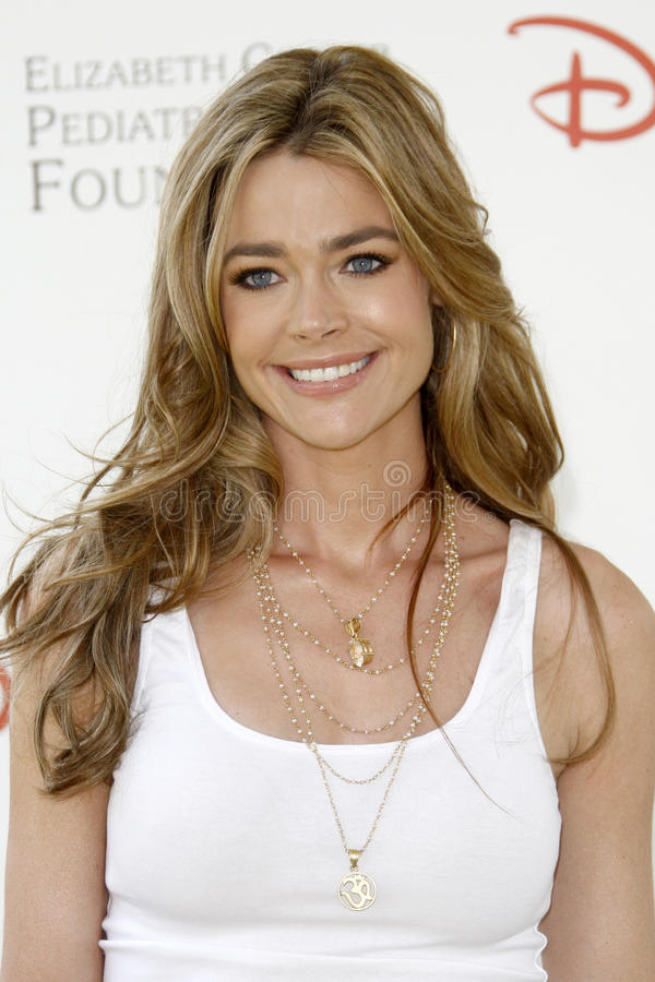 Denise Richards. Arrives at the 2010 A Time For Heroes Benfiting the Elizabeth Glaser Pediatric Aids Foundation Wadsworth Theater Grounds Westwood, CA June 13 royalty free stock photography