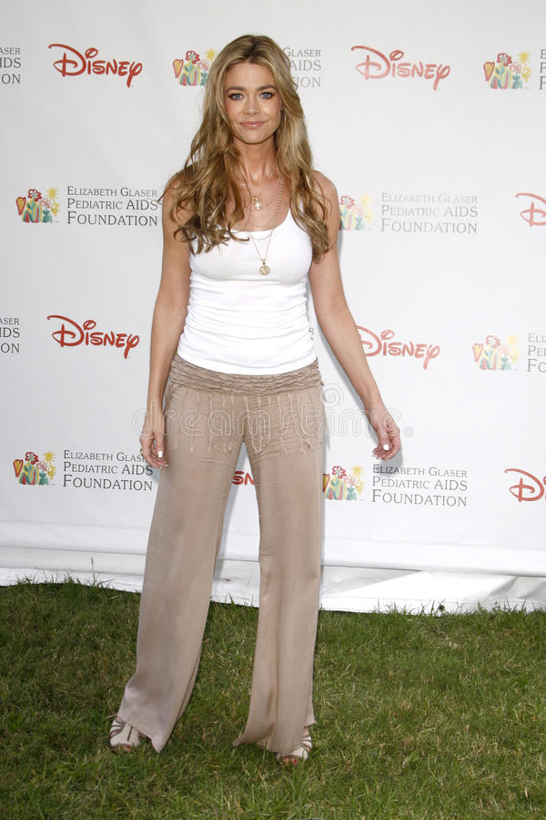 Denise Richards. Arrives at the 2010 A Time For Heroes Benfiting the Elizabeth Glaser Pediatric Aids Foundation Wadsworth Theater Grounds Westwood, CA June 13 royalty free stock images