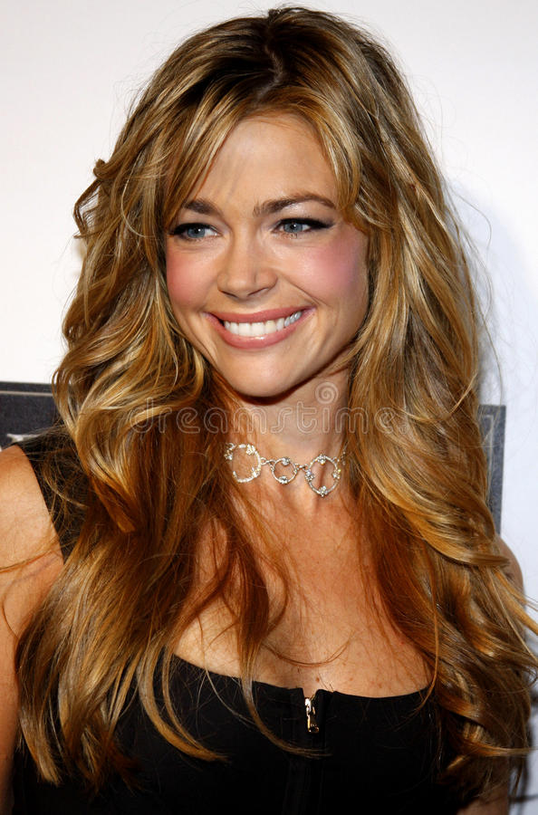 Denise Richards. Attends the Hand & Footprint Ceremony for Samuel L. Jackson held at the Grauman's Chinese Theatre in Hollywood, California on January 30, 2006 royalty free stock photography