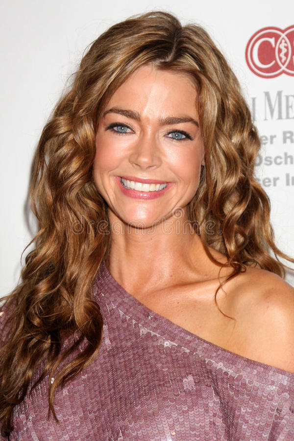 Denise Richards, cor-de-rosa foto de stock