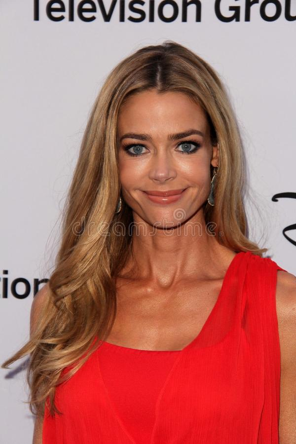 Denise Richards. At the Disney Media Networks International Upfronts, Walt Disney Studios, Burbank, CA 05-19-13 stock images