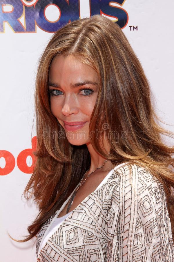 Denise Richards. At the iParty with Victorious Premiere Event, The Lot, Hollywood, CA. 06-04-11 royalty free stock photos