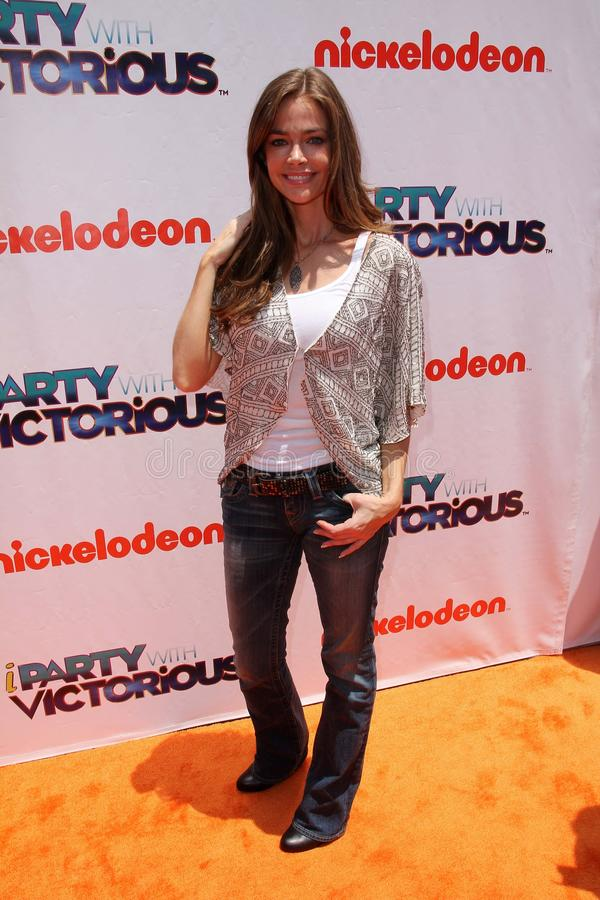 Denise Richards. At the iParty with Victorious Premiere Event, The Lot, Hollywood, CA. 06-04-11 royalty free stock photo