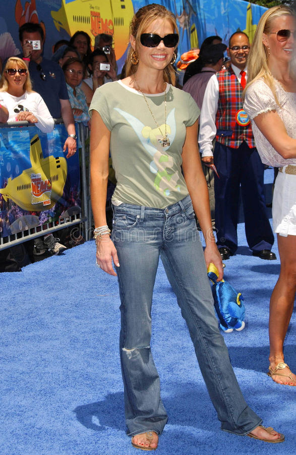 Denise Richards. At the Opening of Disneyland's 'Finding Nemo Submarine Voyage'. Disneyland, Anaheim, CA. 06-10-07 stock image