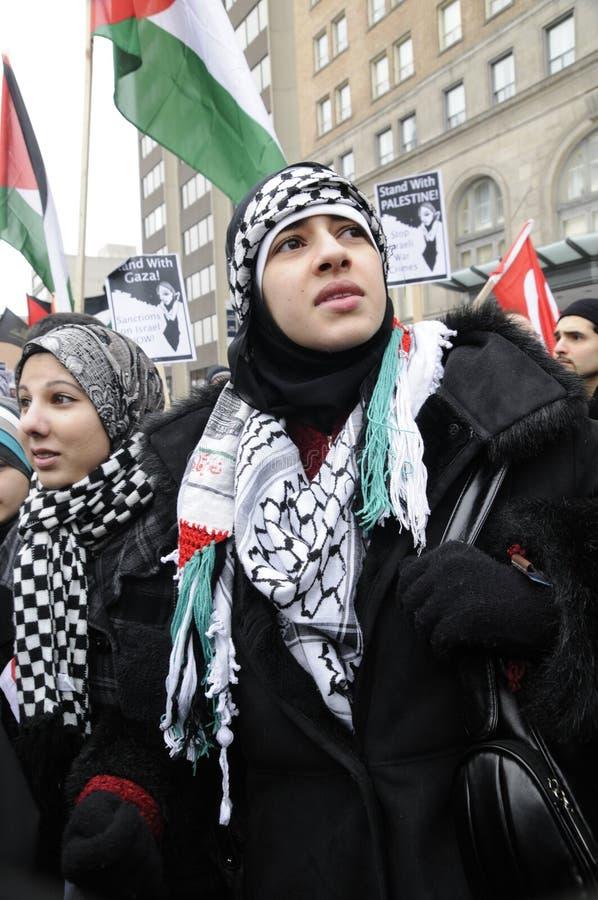 DenIsrael ockupationen av Gaza samlar. arkivfoton