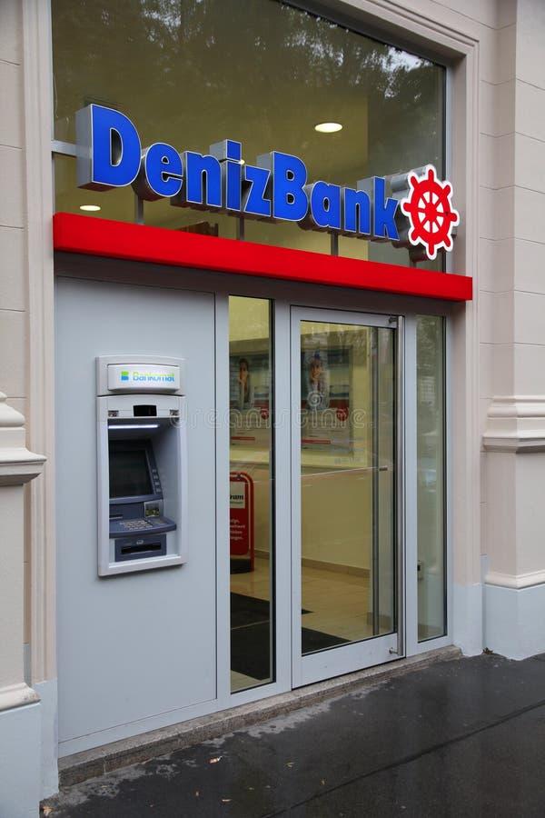 Deniz Bank Editorial Stock Photo
