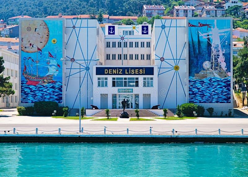 Deniz Lisesi Nautical High Scholl en Estambul fotos de archivo libres de regalías