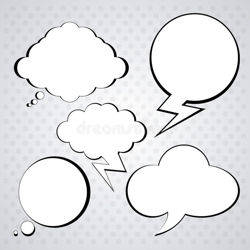 Denk verschillend ontwerp vector illustratie