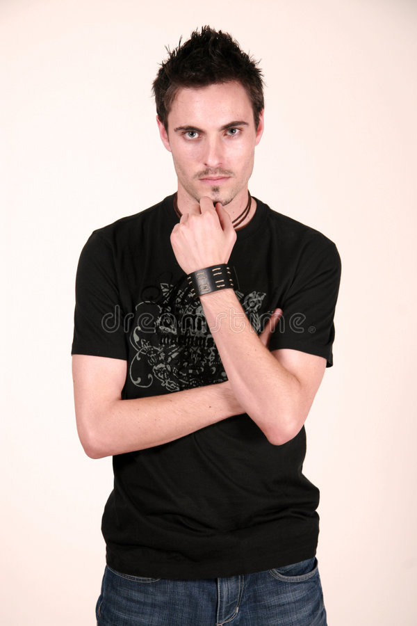 Denken - Jon Lorentz stockfotos
