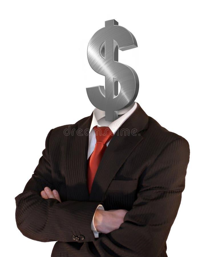 Denken an Profite stock abbildung