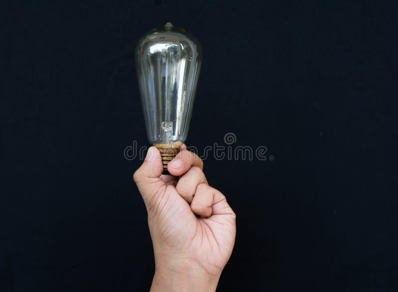 Denken Sie und erhalten Sie Idee lizenzfreies stockbild